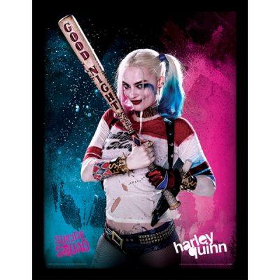 Постер в раме Suicide Squad (Harley Quinn) 30 х 40 см