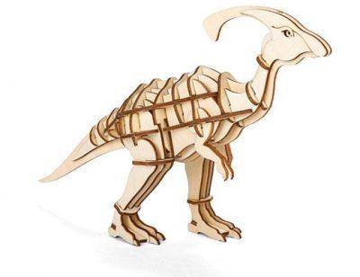 Головоломка 3D-пазл «Динозавр», деревянный