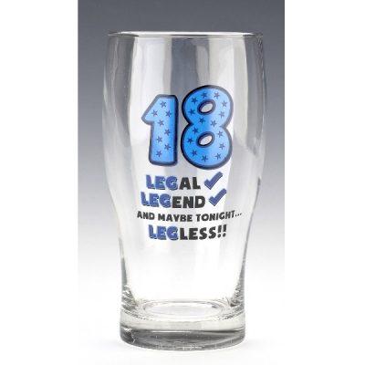 Бокал для пива «Age 18» 570 мл