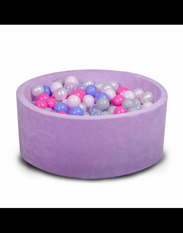 Бассейн для дома сухой, детский, фиолетовый