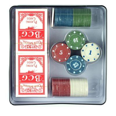 Фишки для покера 100 шт