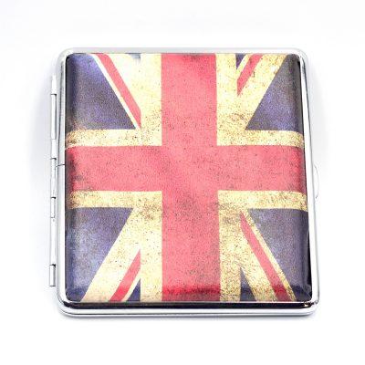 Портсигар «UK/USA» для 20 сигарет