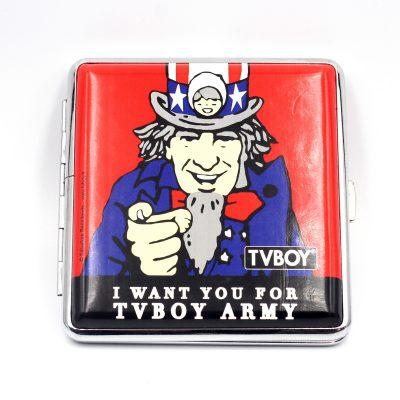 Портсигар «TV BOY POP» для 20 сигарет