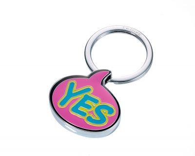 Брелок «Yes» розовый