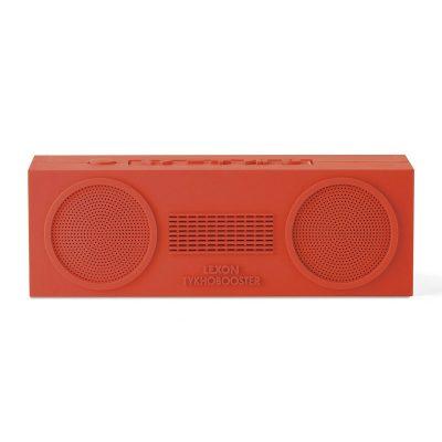 Динамик Lexon Tykho booster stereo, красный