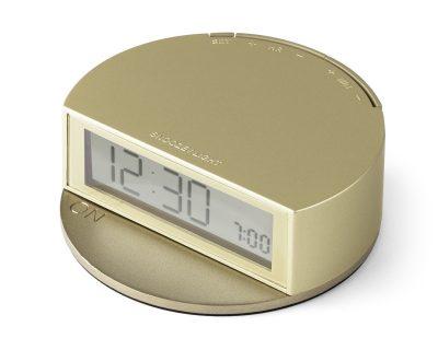 Французские часы Lexon Fine Twist с режимом повторения будильника