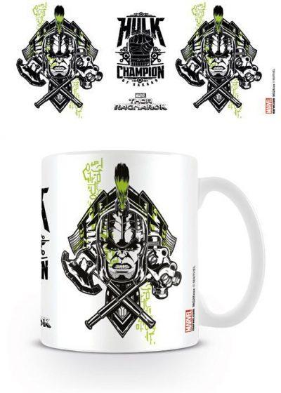 Кружка Thor Ragnarok (Hulk Champion of Sakaar)