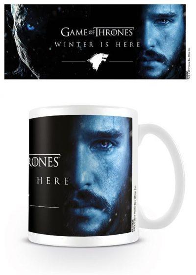 Кружка «Game of Thrones / Игра Престолов (Winter Is Here - Jon)»