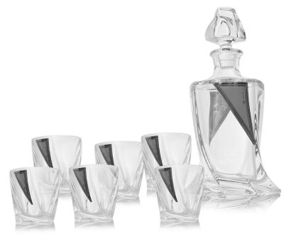 Набор для виски Cardiff (графин + 6 стаканов)