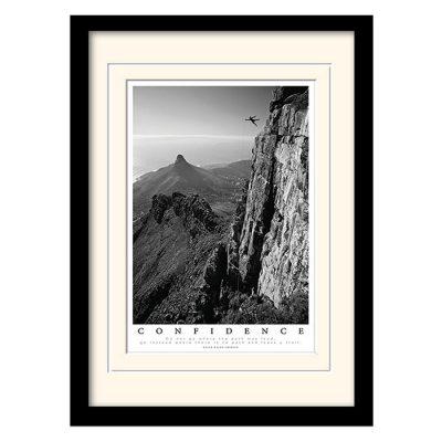 Постер в раме «Confidence» 30 x 40 см