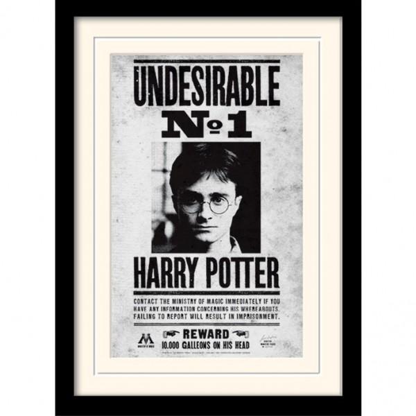 Постер в раме «Harry Potter (Undesirable No1)» 30 x 40 см