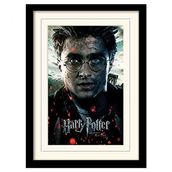 Постер в раме «Harry Potter (Deathly Hallows Part 2 - Harry)» 30 x 40 см