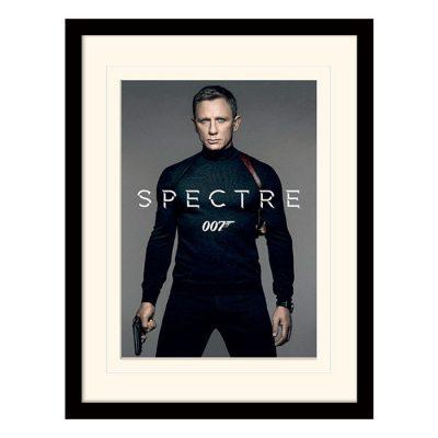 Постер в раме «James Bond (Spectre - Colour Teaser)» 30 x 40 см