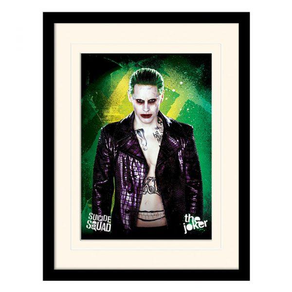 Постер в раме «Suicide Squad (The Joker)» 30 x 40 см