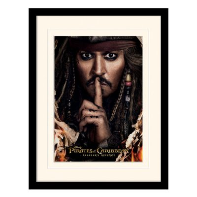 Постер в раме «Pirates of the Caribbean (Can You Keep A Secret)» 30 x 40 см