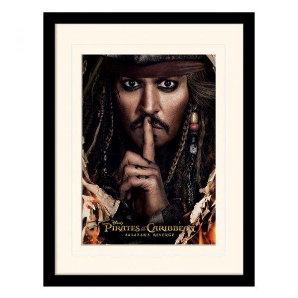 Постер в раме «Pirates of the Caribbean (Can You Keep A Secret)» 30 x 40 см