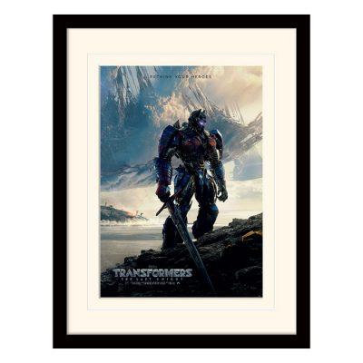 Постер в раме «Transformers The Last Knight (Rethink Your Heroes)» 30 x 40 см