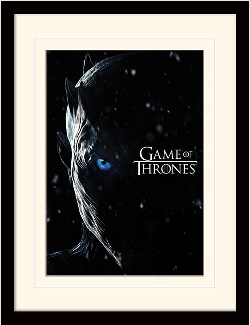 Постер в раме «Game Of Thrones (The Night King)» 30 x 40 см