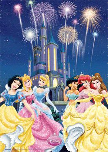 Постер 3D A3 «Disney Princess « 30 х 40 см