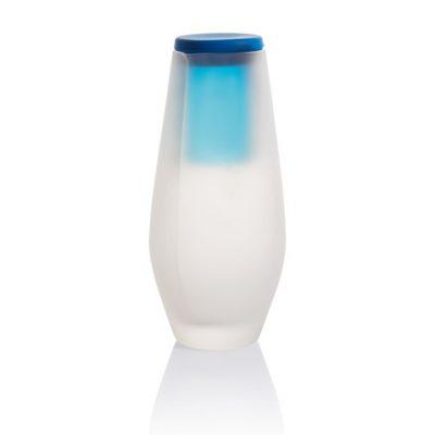Графин Hyta с крышкой-стаканом синий