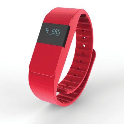Фитнес трекер Keep fit, красный