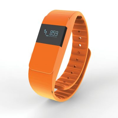 Фитнес трекер Keep fit, оранжевый