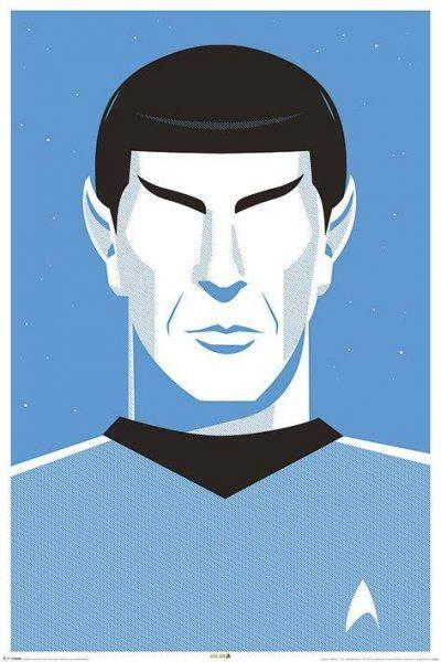 Постер «Star Trek (Pop Spock) - 50th Anniversary»