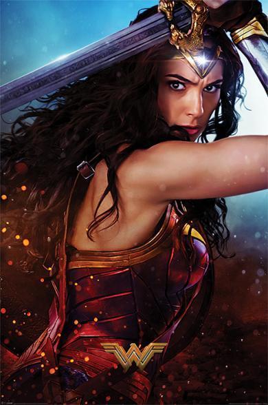 Постер «Wonder Woman (Wonder)» 61 x 91,5 см
