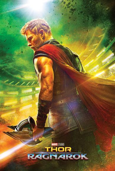 Постер «Thor Ragnarok (Teaser)»