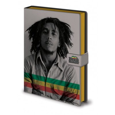 Блокнот Bob Marley / Боб Марли (photo) A5 fabric