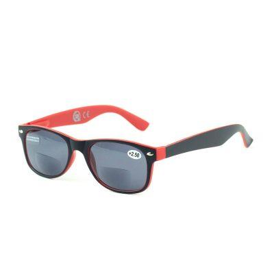 Очки для чтения на солнце красные «CDU SUN» +2,50