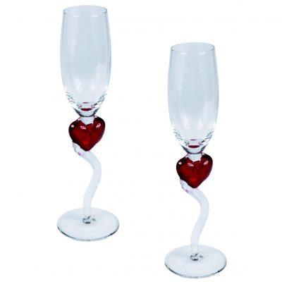 Набор бокалов «Сердце»