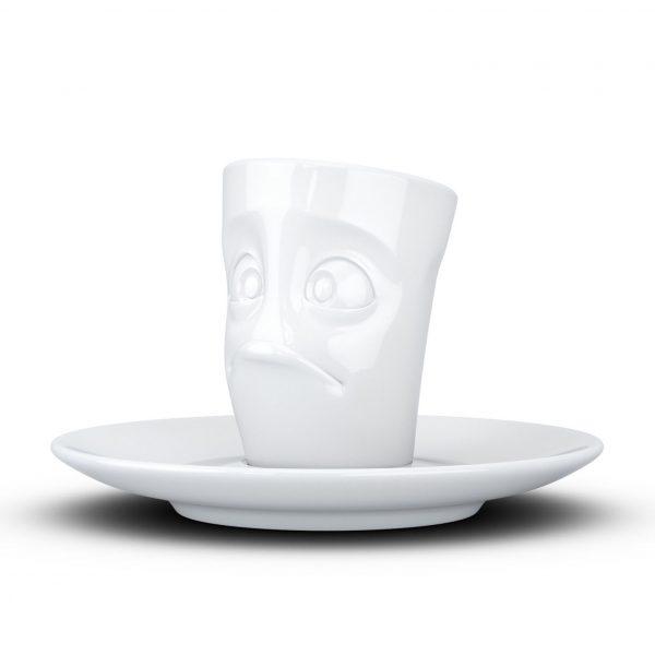 Espresso чашка с ручкой Tassen Озадаченный (80 мл), фарфор