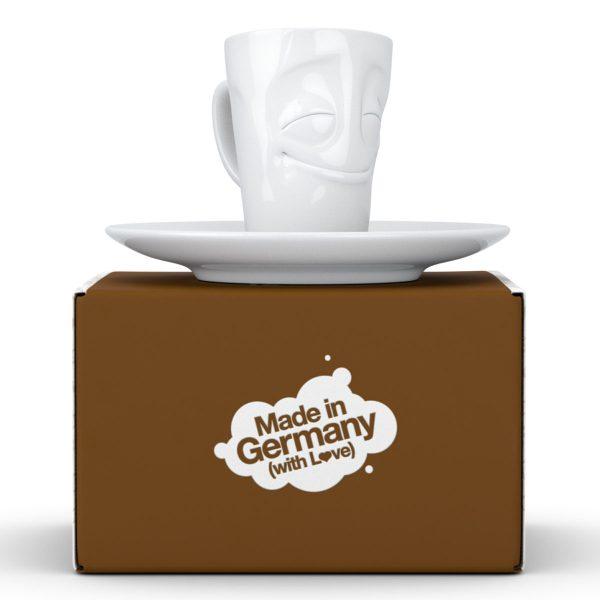 Espresso чашка с ручкой Tassen Весельчак (80 мл), фарфор