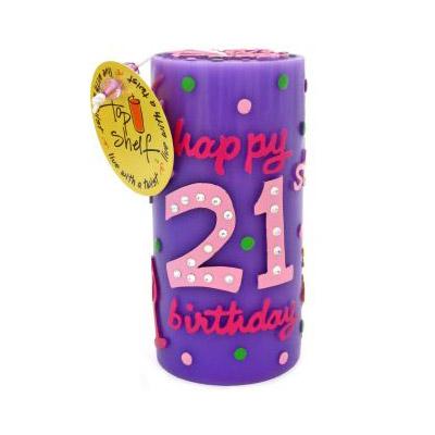 Свечи «21-й День рождения»