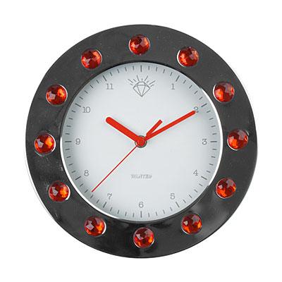 Часы настенные «Бриллианты», красные