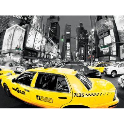 Фотокартина Yellow Cabs 60 х 80 см