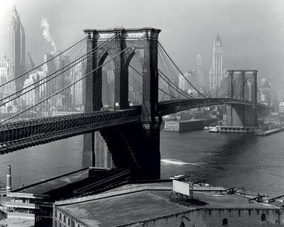 Фотокартина на холсте (New York 1946) 60 х 80 см
