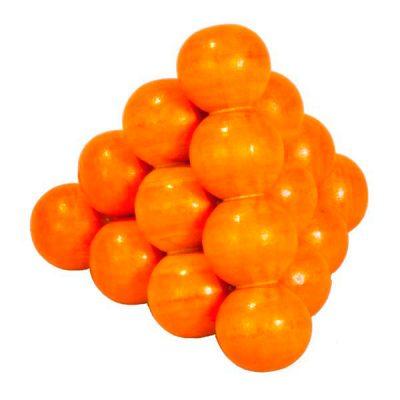 Головоломка IQ-тест «Оранжевые шарики», деревянная