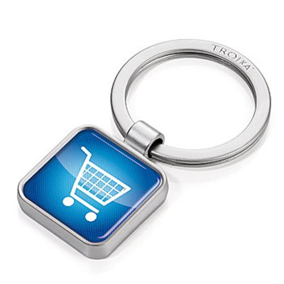Брелок App Keyring- Shopping