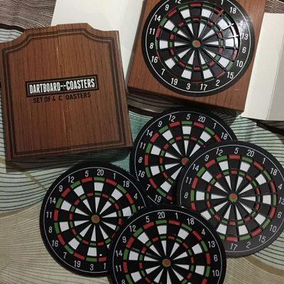 Набор костеров «Dartboard» 4 шт.