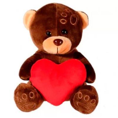 Игрушка плюшевая «Мишка с сердцем»