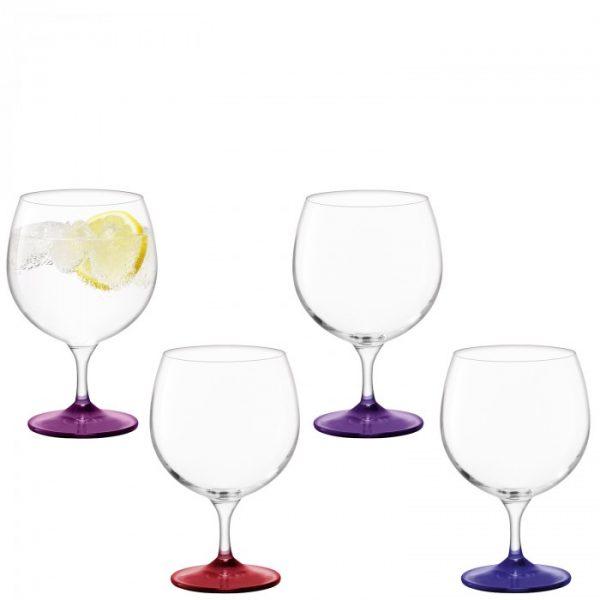 Набор бокалов для вина Coro, цветные 525 мл