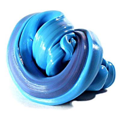 HandGum Хамелеон сине- бирюзовый с запахом смородины пластилин