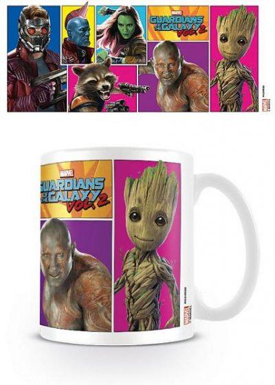 Кружка «Guardians Of The Galaxy Vol. 2 (Comic Panels)»