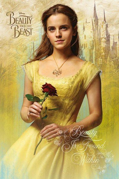 Постер Beauty And The Beast Movie 61 x 91,5 cм
