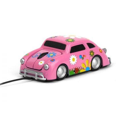 Компьютерная мышь «Flower», розовая