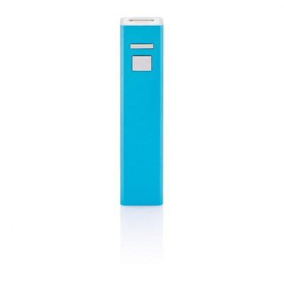 Пауэр-банк на 2200 mAh, синий