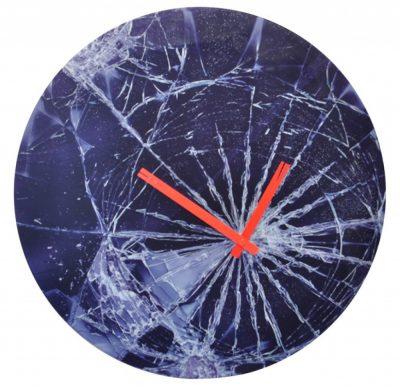 Часы настенные «Crash» Ø43 см