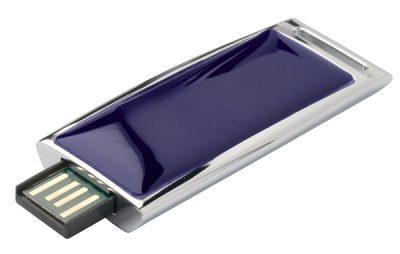 USB-накопитель ZOOM Azur синий Cerruti 1881